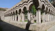 San Giovanni degli Eremiti church, view of the cloister, Palermo, Sicily