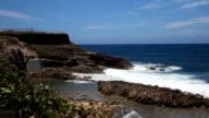 San Juan, Puerto Rico Rocky Coastline