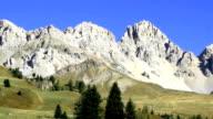 San Pellegrino pass in Trentino Alto Adige..