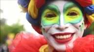 San Salvador takes to the streets dressing the city with colour as it celebrates the start of the countrys patron saints festival in honour of Divino...