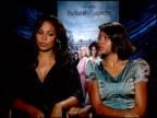 Sanaa Lathan and Taraji P Henson on the lack of strong female characters in films today at the THE FAMILY THAT PREYS junket at Los Angeles CA