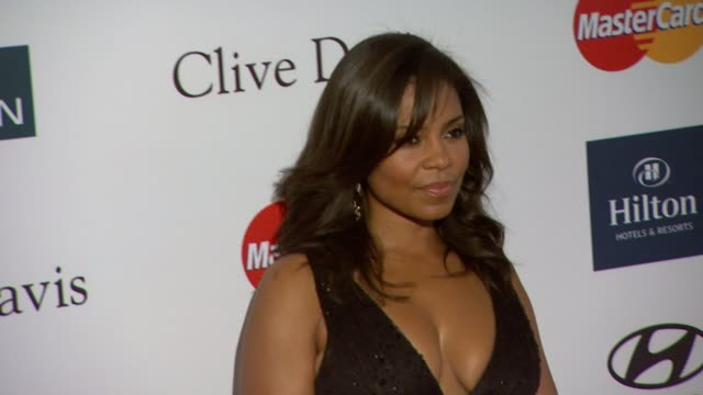 Sanaa Lathan at Clive Davis And The Recording Academy's 2012 PreGRAMMY Gala And Salute To Industry Icons Honoring Richard Branson on 2/11/12 in...
