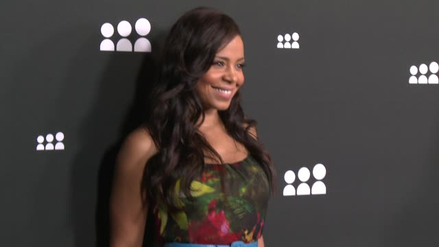 Sanaa Lathan at New Myspace Launch Event on 6/12/13 in Los Angeles CA