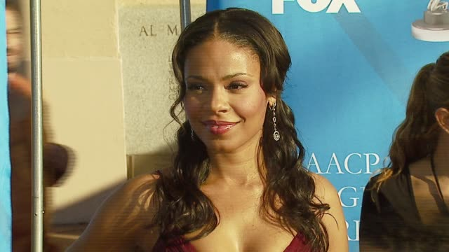 Sanaa Lathan at the 38th NAACP Image Awards at the Shrine Auditorium in Los Angeles California on March 2 2007