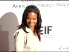 Sanaa Lathan at the Amped for Africa PreOscar Benefit Hosted by Charlize Theron at Republic Restaurant in Los Angeles California on March 2 2006