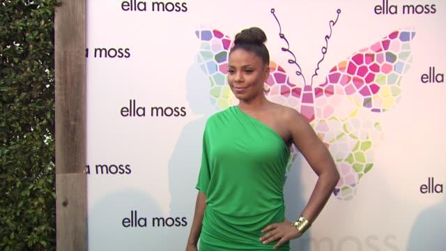 Sanaa Lathan at the Ella Moss 10 Year Anniversary Celebration at West Hollywood CA