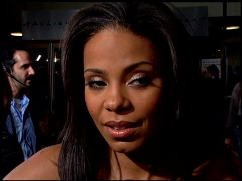Sanaa Lathan at the 'Something New' Premiere at the Cinerama Dome at ArcLight Cinemas in Hollywood California on January 24 2006