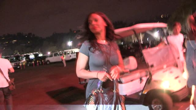 Sanaa Lathan friend arrive to the JayZ Beyonce On The Run Tour at Pasadena in Celebrity Sightings in Los Angeles