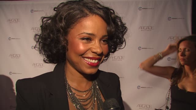 Sanaa Lathan on being at the event and supporting Children's Institute Facebook at the ARCADE Boutique Hosts The Autumn Party Benefiting Children's...