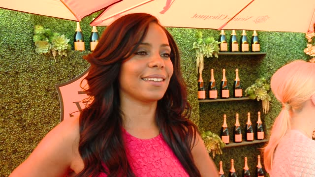 INTERVIEW Sanaa Lathan on the event on her polo style and on what she's working on now at the FifthAnnual Veuve Clicquot Polo Classic Los Angeles at...