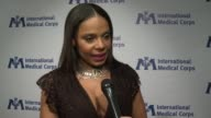 INTERVIEW Sanaa Lathan on the International Medical Corps on being involved at International Medical Corps Annual Awards Celebration in Los Angeles CA