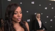 INTERVIEW Sanaa Lathan on the New Myspace at New Myspace Launch Event on 6/12/13 in Los Angeles CA
