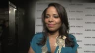 Sanaa Lathan on wearing Alberta Ferretti the new store at the Alberta Ferretti Celebrates First US Flagship Store Opening at Los Angeles CA