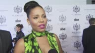 Sanaa Lathan on what she's wearing on coming out tonight and on what she expects from the SLS Hotel at the Opening of SBE's SLS Hotel at Los Angeles...