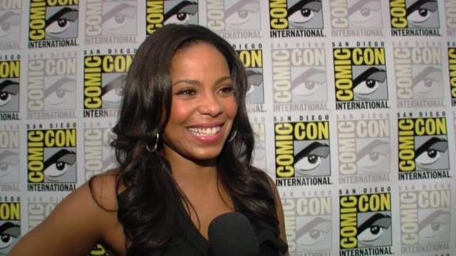 Sanaa Lathan on who she plays on the show at the ComicCon 2009 The Cleveland Show at San Diego CA
