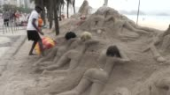 Sand sculptures of curvaceous full bottomed women on Copacabana beach may be one of Rio de Janeiros wackier tourist attractions but now theyre under...