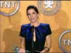 Sandra Bullock on her 'bucket list' at the 16th Annual Screen Actors Guild Awards Press Room at Los Angeles CA