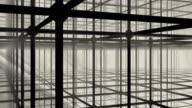 Sandstorm in Metall-Konstruktion