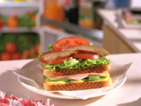 sandwich made.  armandose