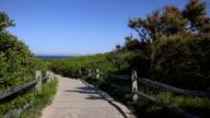 Sandy Boardwalk to Ocean