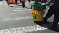 Sanitation worker in New York City