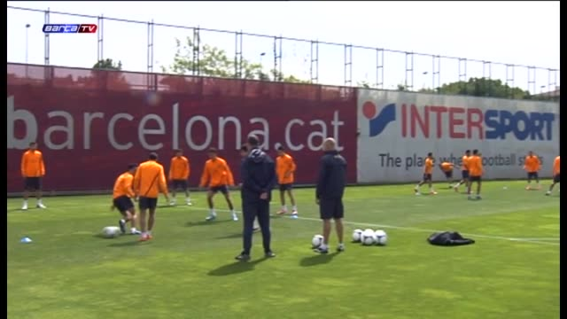 Sant Joan Despí 22 May With all eyes on final of the Copa del Rey on Friday Barcelona trained with all available players on Tuesday with Alexis and...