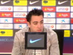 Sant Joan Despi 8 Mar Barcelona midfielder Xavi Hernandez had nothing but praise for his teammate Leo Messi who set a new Champipons League record on...