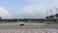 Santa Clara, Cuba: Che Guevara Memorial or plaza. Point of view from the statue base to the esplanade