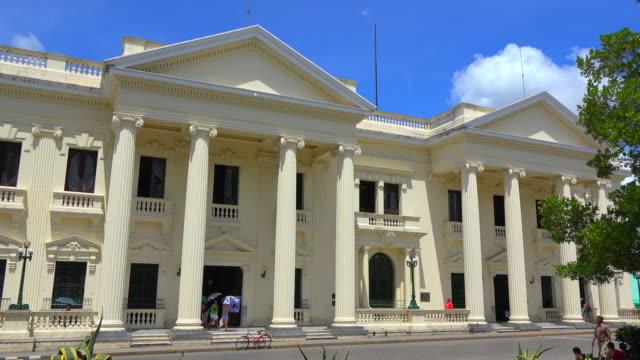 Santa Clara, Cuba: Jose Marti Library building in the Leoncio Vidal Park