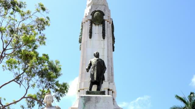 Santa Clara, Cuba: Jose Miguel Gomez monument in 'La Audiencia' park