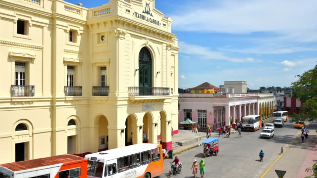 Santa Clara, Cuba: Time-lapse at The Charity Theatre (Spanish: Teatro La Caridad)