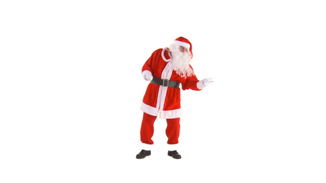 HD: Santa Claus Dancing