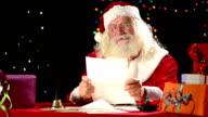 Santa Claus read letters
