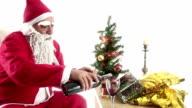 HD : Santa Claus & Wine & Cheers