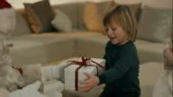 Santa Clause brings presents to kids