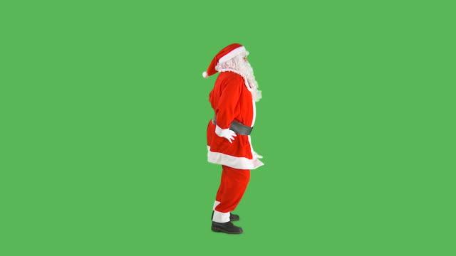 HD: Santa Dancing