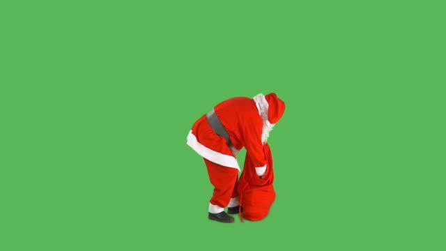 HD: Santa Giving Presents