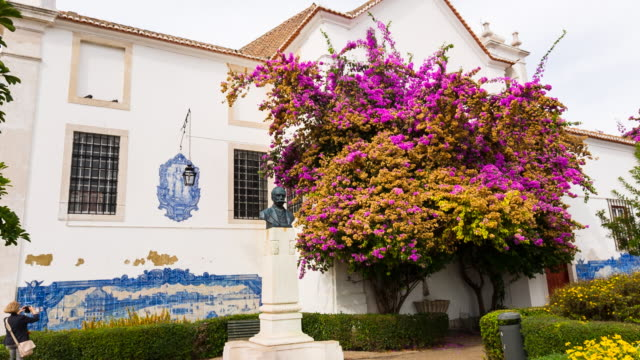 MS Santa Luzia Church with traditional Azulejo tiles