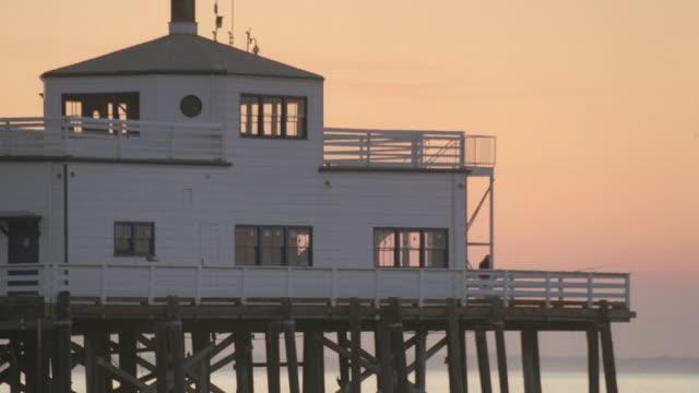 MS Santa Monica Pier at dusk / Santa Monica, California, United States