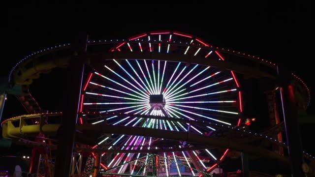 Santa Monica Pier Pacific Park Amusement Park on the pier in Santa Monica California