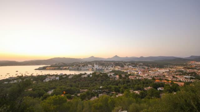 Santa Ponsa going sleep, Majorca Palma de Mallorca Aerial View