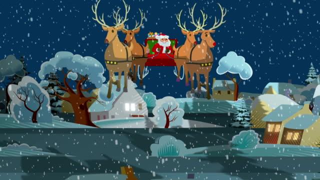 Santa's ride through Countryside Village