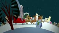 Santa's ride through New York
