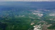 santiago de chile desde el aire from above