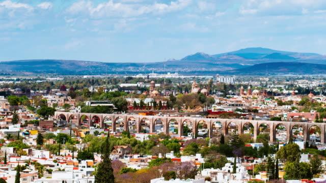 Santiago de Queretaro Aqueduct Mexico