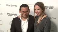 Santiago Gonzalez and Zoe Kazan at the The Cinema Society Nancy Gonzalez Host A Screening Of 'Meek's Cutoff' at New York NY