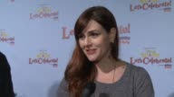INTERVIEW Sara Rue on being a part of the event at Disney On Ice Presents Let's Celebrate Presented By Stonyfield YoKids Organic Yogurt in Los...