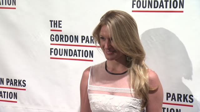 Sarah Arison at The Gordon Parks Foundation Awards Dinner and Auction at Cipriani Wall Street on June 02 2015 in New York City