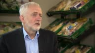 Jeremy Corbyn interview ENGLAND Greater Manchester Bolton INT Jeremy Corbyn MP interview SOT On child grooming / on resignation of Labour MP Sarah...