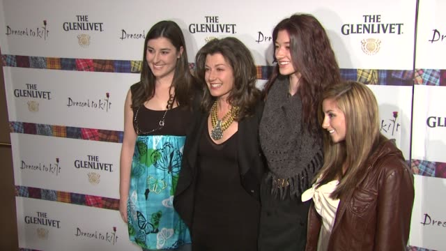 Sarah Chapman Amy Grant Millie Chapman and Jenny Gill at the 9th Annual Dressed To Kilt Charity Fashion Show at New York NY